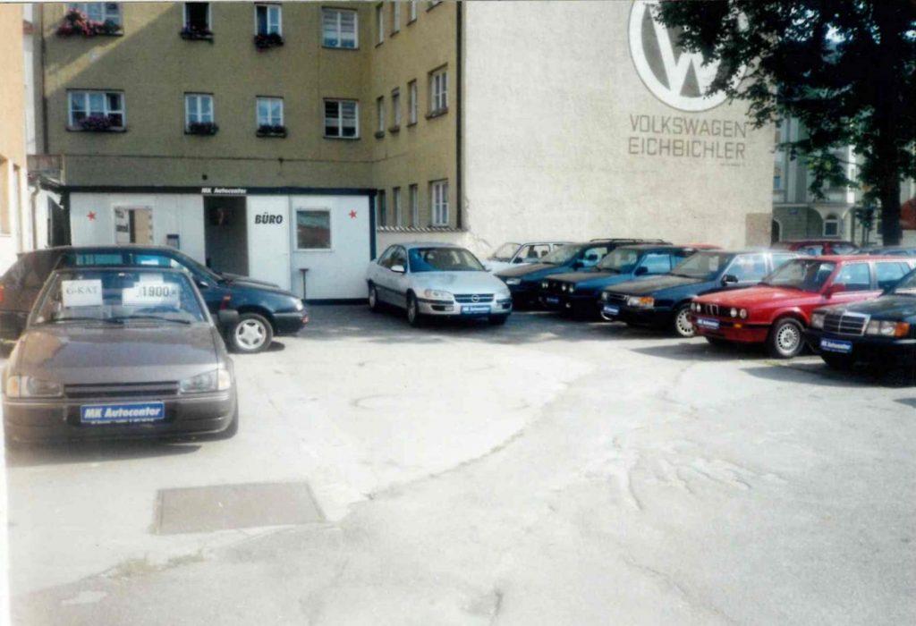 """1999: Gründung des Unternehmens """"MK Center"""" in Landshut"""